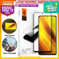 Tempered Glass Xiaomi Poco X3 NFC Spigen Glas tR Full Cover HD