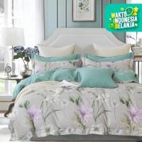 Sleep Buddy Set Sprei Peace Garden Cotton Sateen Single Size