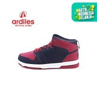 Ardiles Men Crimson Sepatu Basket - Hitam Merah - Hitam Merah, 41