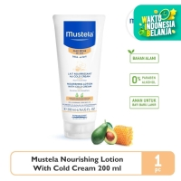 Mustela Nourishing Lotion with cold cream 200 ml