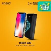 UNEED QiBox W10 Wireless Powerbank 10000mAh Real Capacity – UPB501