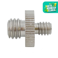 """1/4"""" MALE TO 3/8"""" MALE SCREW ADAPTER"""