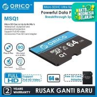 ORICO MicroSD High Speed TF Memory Card - MSQ1-64GB