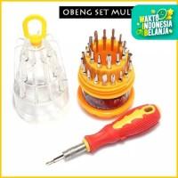 Obeng Set Reparasi 31 in 1 Multifungsi Lengkap EDC Tools Kit Set PC HP