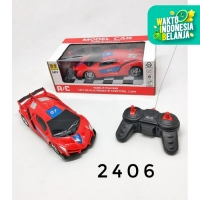 Mainan Mobil Remot SPORT MINI / RC Remote Control 727-X7/X8 - Merah, tanpa baterai