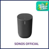 Sonos Move Smart Portable Wi-Fi and Bluetooth Speaker - Hitam
