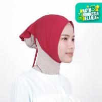 Zoya Inner Kerudung Ciput Hijab - Ciput Face Lift Rose Red