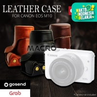 LEATHER CASE FOR CANON EOS M10