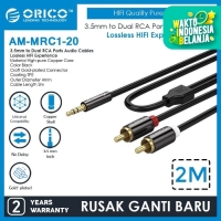 ORICO Jack Mini Stereo 3.5mm to RCA Audio Cables 2 Meter - AM-MRC1-20
