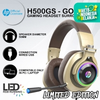 Headset Gaming HP H500GS - The Real 7.1 Surround RGB LED LIMIT EDITION