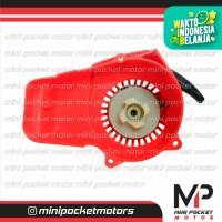 Pullstarter / Tarikan Plastik Merah Motor Mini GP / Trail 50cc