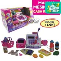 Mainan Anak Magical Play Set Cash Register Mesin Kasir Supermarket