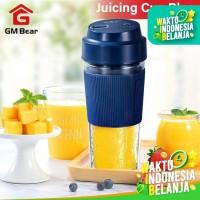 GM Bear Blender Portable Fruit Juicer -Blender Fruit - Biru