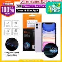 Tempered Glass iPhone 11 / Pro / Max / XS Max / XS / XR X Spigen SLIM