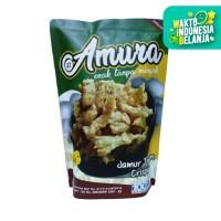 Amura - Jamur Tiram Crispy Sambalado Pedas - 80 gram