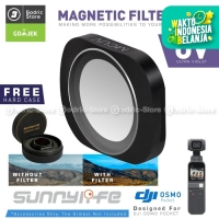 SUNNYLIFE UV PREMIUM Lens Filter for DJI OSMO POCKET Lensa MCUV