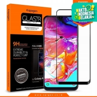 Tempered Glass Galaxy A70 Spigen Glas tR Full Cover Screen Protector