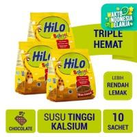 Triple Pack: HiLo School Chocolate Gusset 10 Sch - Susu Tinggi Kalsium