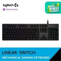 Logitech G512 RGB Mechanical Gaming Keyboard - GX Red Linear