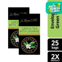Lipton Green Tea with Jasmine Stl 25x2g Twin Pack