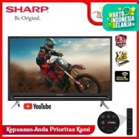 SHARP LED Smart TV 32 Inch HD - LC-32SA4500i / 32SA 4500i 100% ORI