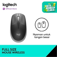 Logitech Wireless Mouse M191 - Mid Grey