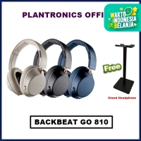 Plantronics BackBeat Go 810 Wireless Headphones Back Beat Go810 - Bone White
