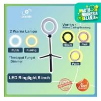 LED Mini 16 cm RingLight Bicolour   Paket dengan Mini Stand
