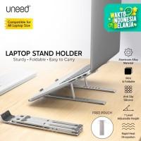 UNEED Dudukan Laptop Stand Holder Laptop Aluminium Alloy - ULS901
