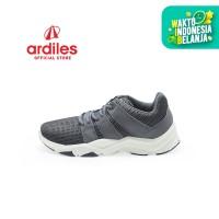 Ardiles Men Feroxit Sepatu Running - Abu Abu