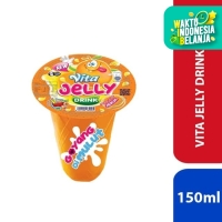 Vita Jelly Drink - Jeruk 150ml - [1 Pcs]
