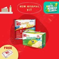 MEG Starter Pack - Keju Serbaguna 165g & Cheddar Slice 8 (New Normal)