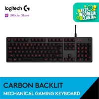 Logitech G413 Mechanical Backlit Gaming Keyboard - Carbon