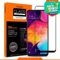 Tempered Glass Galaxy A50 Spigen Glas tR Full Cover Screen Protector