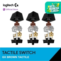 Logitech GX Switch Mechanical Keycaps - Brown Tactile