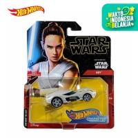 Hot Wheels Star Wars Character Car (Rey) - Mainan Mobil Balap