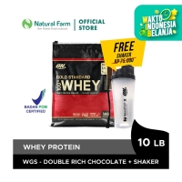 Optimum Whey Gold Double Chocolate 10 Lb + Free Shaker