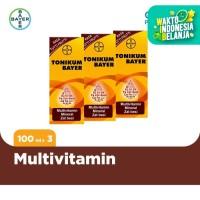 Tonikum Multivitamin, Mineral, dan Zat Besi 100ml x 3 Unit