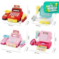 Mainan Anak Mesin Kasir Mini Cash Register 884A / Mainan Kasir Kasiran