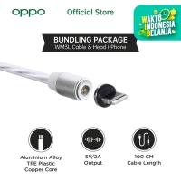 OASE LED MAGNETIC CHARGING CABLE WM3L WITH IPHONE MAGNETIC HEAD