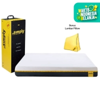 Simply Bed Kasur (120x200) - FREE DELIVERY*