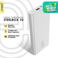 UNEED SteelBox 10 Powerbank 10000mAH Polymer Real Capacity - UPB213