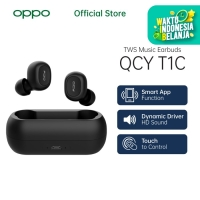 OASE TWS Music Earbuds QCY T1C [Garansi Resmi] - OPPO Official