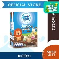 Frisian Flag Junio Susu UHT Chocolate Kemasan Multipack (6x110ml)