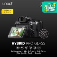 UNEED Hybrid Pro Anti Break Screen Protector Kamera SLR / DSLR SONY