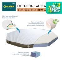 Quantum Octagon Mattress Latex - Kasur Springbed [Bisa Custom] - 150-169, 10cm