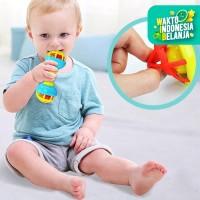 MB05 Mainan Bayi Rattle Stick Kerincingan 3365 Kerincingan Gigitan