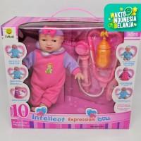 MAINAN BONEKA ANAK BAYI CUTE BABY INTELLECT EXPRESSION 10 FUNGSI