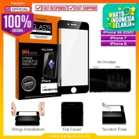 Tempered Glass iPhone SE 2020 / 8 / 7 Spigen Glas tR Full Cover