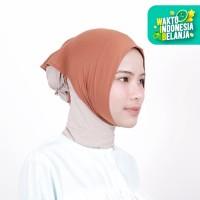 Zoya Inner Kerudung Ciput Hijab - Ciput Face Lift Caramel